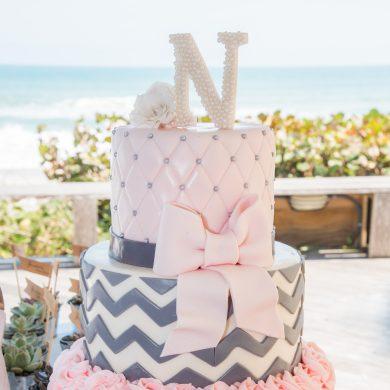 Decorated Fondant Cake
